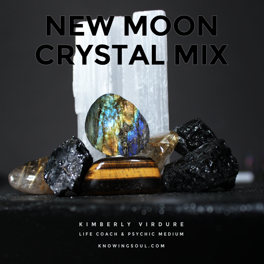 New Moon Crystal Mix for March 2017