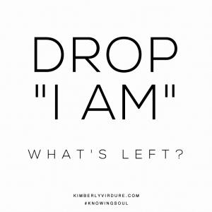 Drop I AM