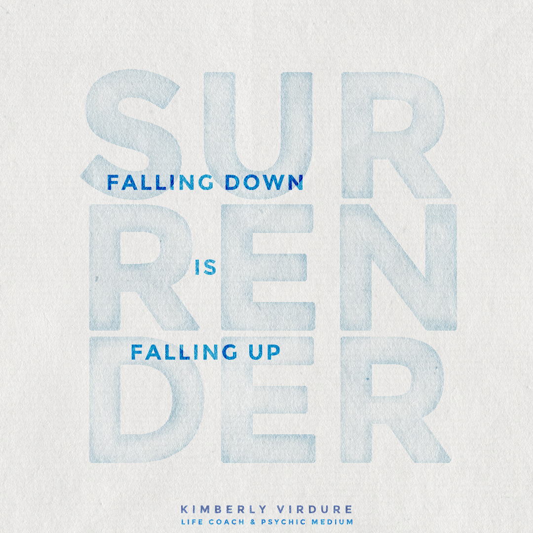 Falling Down is Falling Up