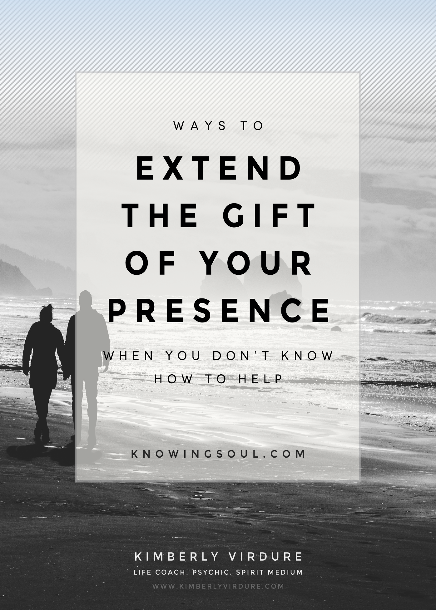 Ways to extend the gift of your presence